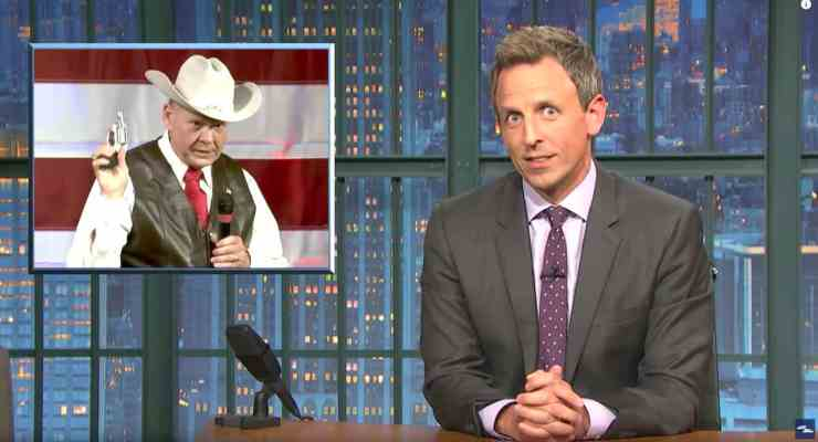 Roy Moore Seth Meyers
