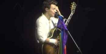 Harry Styles pride flag
