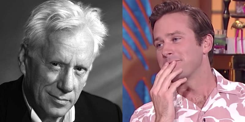 Armie Hammer James Woods
