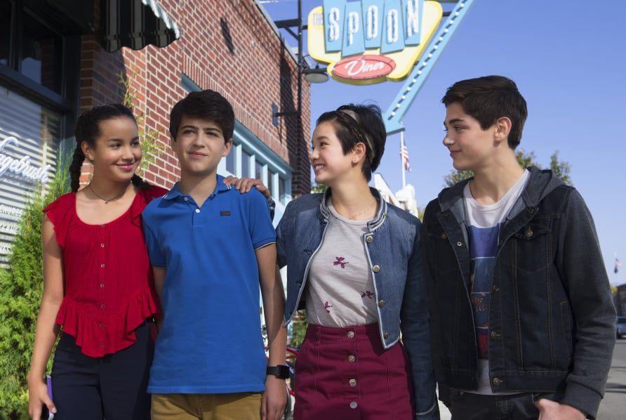 Wylie As Buffy Driscoll Joshua Rush As Cyrus Goodman Peyton Elizabeth Lee As Andi Mack And Asher Angel As Jonah Beck Disney Channel Photographer