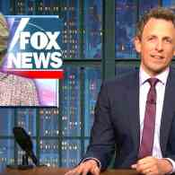 Seth Meyers Blasts the 'Slobbering' Trump Sycophants at FOX News and its Obsession with Hillary: WATCH
