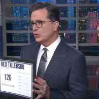 What Is Trump's IQ? Stephen Colbert Has the Results of the Tillerson Challenge: WATCH