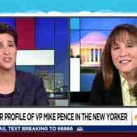 Rachel Maddow Talks with Writer Who Reported Pence 'Wants to Hang' All Gays; White House Denies – WATCH