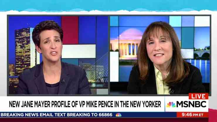Rachel Maddow Jane Mayer