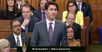 Trudeau apologizes