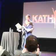 Kathy Griffin faints