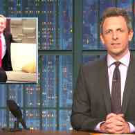 Seth Meyers: Trump is 'So Unpopular, Soon It's Just Going to Be 'FOX & Friend' – WATCH