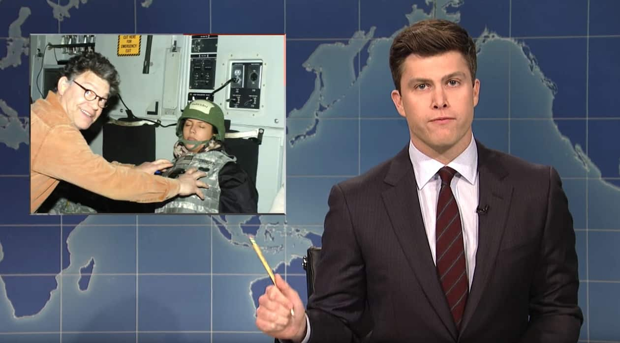 'SNL' takes on Senator - and former 'SNL' performer - Al Franken