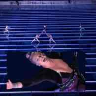 Pink's Acrobatic 'Beautiful Trauma' Ballet on the Side of the JW Marriott is a Must-See AMAs Moment: WATCH