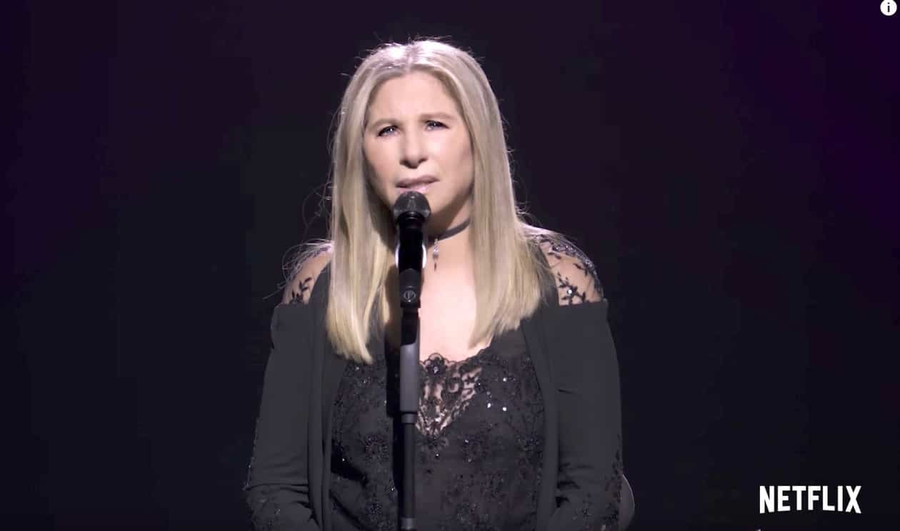 Barbra Streisand: Trump's Presidency Is 'Making Me Fat'