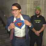 justin trudeau superman