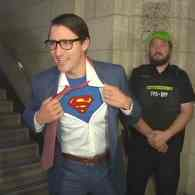 justin trudeau superman