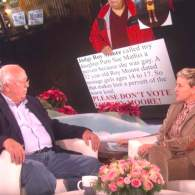 Ellen Welcomes Alabama Hero Dad Who Went Viral Protesting Roy Moore for His Gay Daughter: WATCH