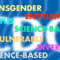 cdc banned words