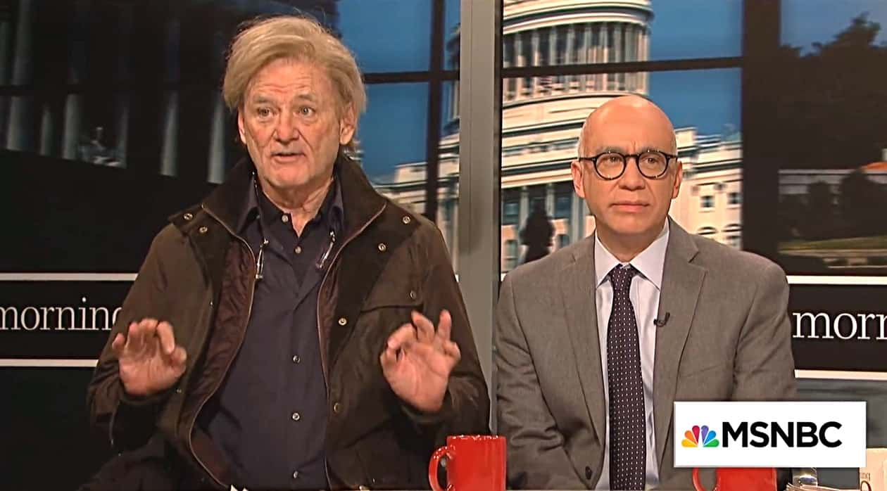 Bill Murray Lampoons Steve Bannon in Hilarious SNL Cold Open
