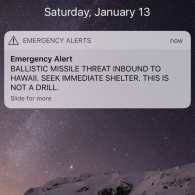 Trump: 'I Love' That Hawaii 'Took Full Responsibility' for False Missile Alert