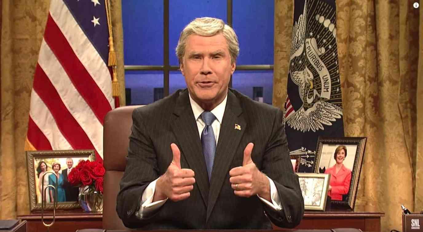 Will Ferrell George Bush
