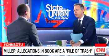 jake tapper stephen miller