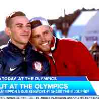 Adam Rippon and Gus Kenworthy Reflect on the Mike Pence Feud, the Boyfriend Kiss, and More: WATCH