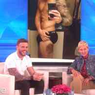 Ellen is Hypnotized by Gus Kenworthy's…Um…Bruise: WATCH