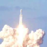 Watch Elon Musk Launch a Tesla Roadster into Space Aboard Heaviest Rocket in History