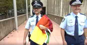 rainbow flag sydney