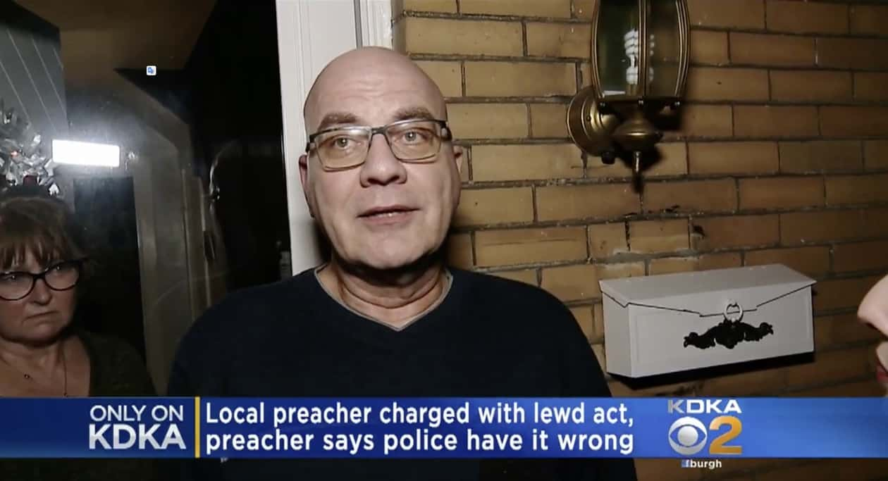 Pastor caught by police in car with bound naked man says