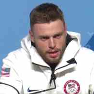 Gus Kenworthy Grilled About Mike Pence, Shirtless Flagbearing at Olympics Press Conference: WATCH