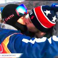Gus Kenworthy kiss