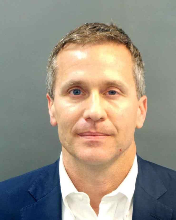 Missouri Governor Eric Greitens: Mugshot