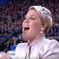 If You Missed Pink's Super Bowl National Anthem, Let It Open Your Monday