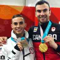 Adam Rippon Bonds with Gay Canadian Skater Eric Radford After Both Win Medals