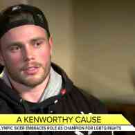 Gus Kenworthy Says He'll Reject White House Invite: 'I Have No Patience' for Trump and Pence – WATCH