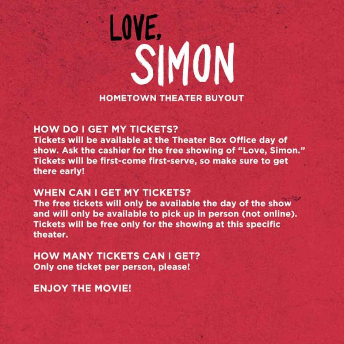 love simon online free