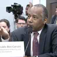 Ben Carson: Homeless Transgender People Make Others Uncomfortable