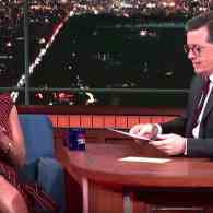 Stephen Colbert Extracts What He Can from Omarosa on the Trump White House: WATCH