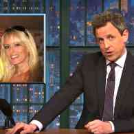 Seth Meyers Reveals How Trump's Affairs with Putin and Stormy Daniels are Alike: WATCH