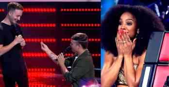 gay proposal the voice