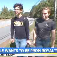 Gay Georgia Couple Can't Be Prom King and King, School Says: WATCH