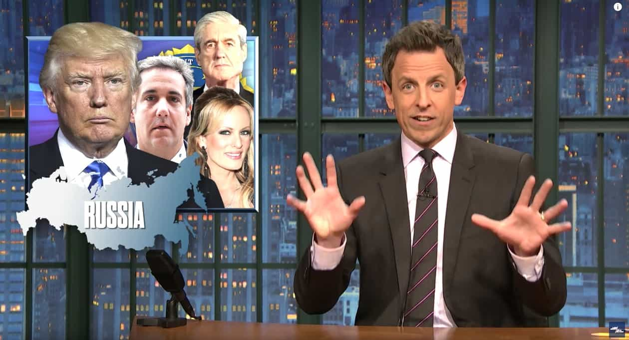 Seth Meyers' Son Was Just Born in His Apartment Lobby