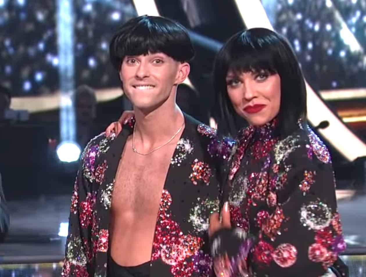 Gay dancing with stars