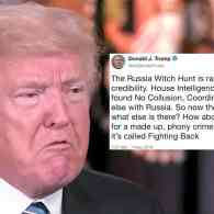 russia witch hunt