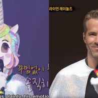 This is the Best 'Annie' Musical Performance by Ryan Reynolds in a Rainbow Unicorn Mask You'll See All Day: WATCH