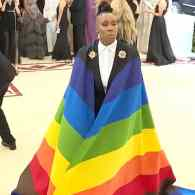 Lena Waithe Wore an LGBTQ Rainbow to the Met Gala's Catholic-Themed Fashion Bash