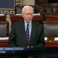 Sen. Orrin Hatch (R-UT) Delivers Surprising, Passionate 10-Minute Floor Speech About LGBT Youth Suicide: WATCH