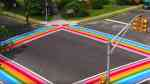 maplewood rainbow crosswalks