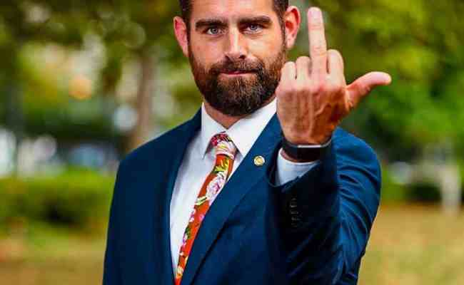 Out Pa Rep Brian Sims Welcomes Mike Pence To Philly With
