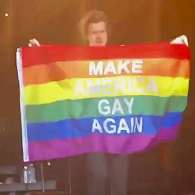Harry Styles Wants to 'Make America Gay Again' – WATCH