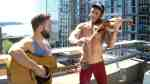 tom goss shirtless violinist