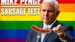 sausage fest mike pence